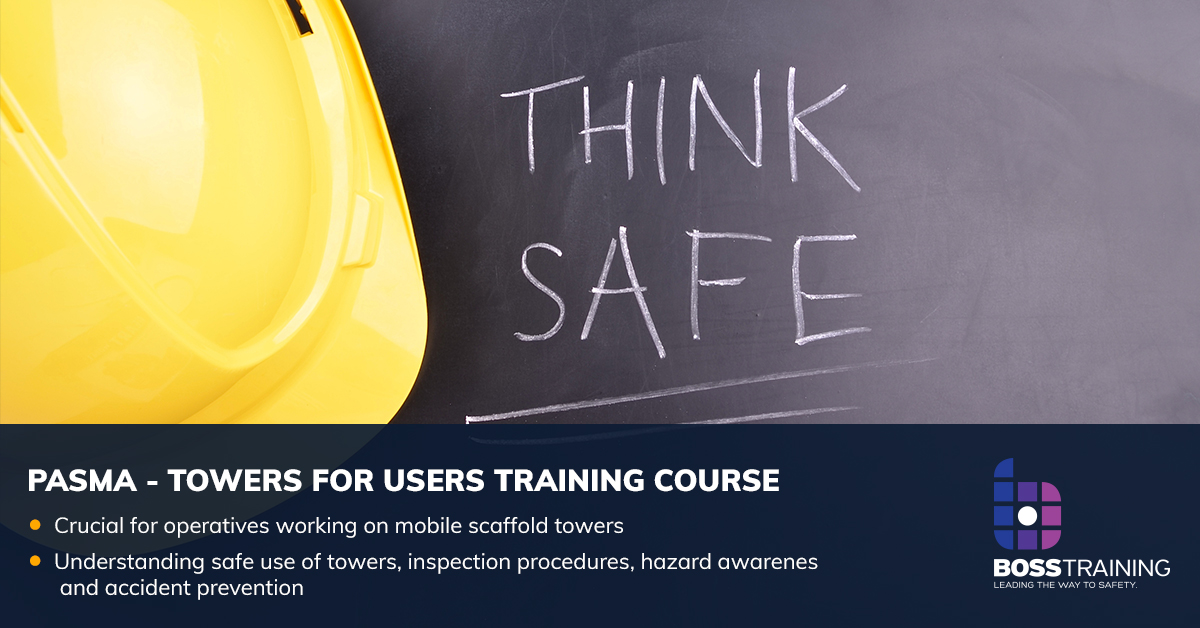 PASMA towers for users training course