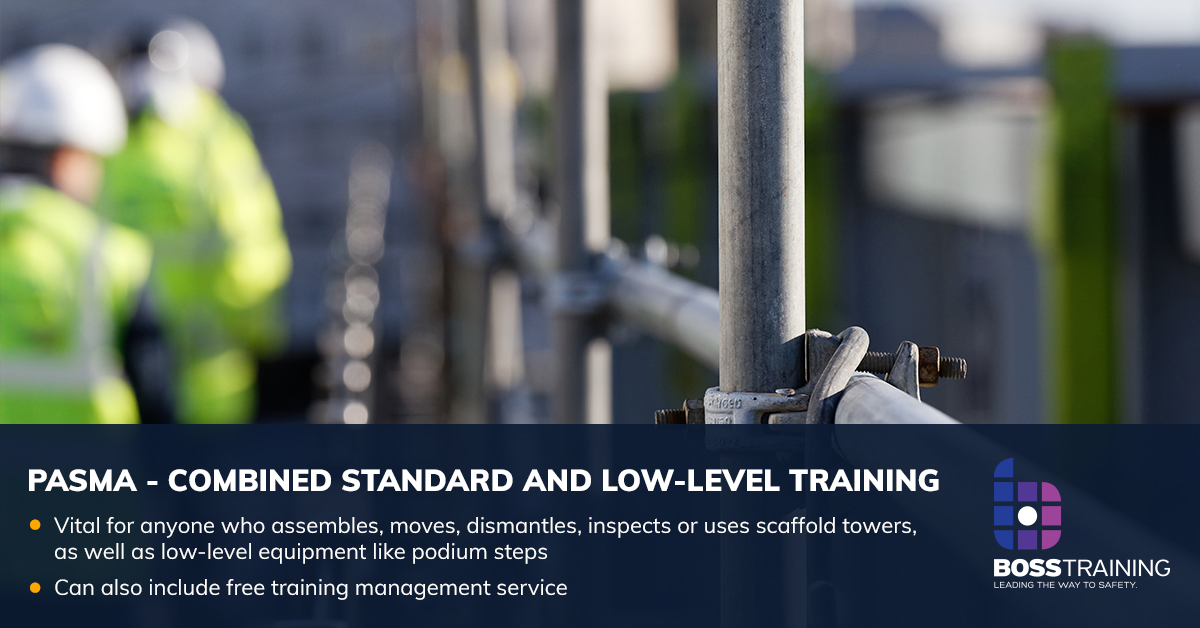 pasma combined standard and low level training course
