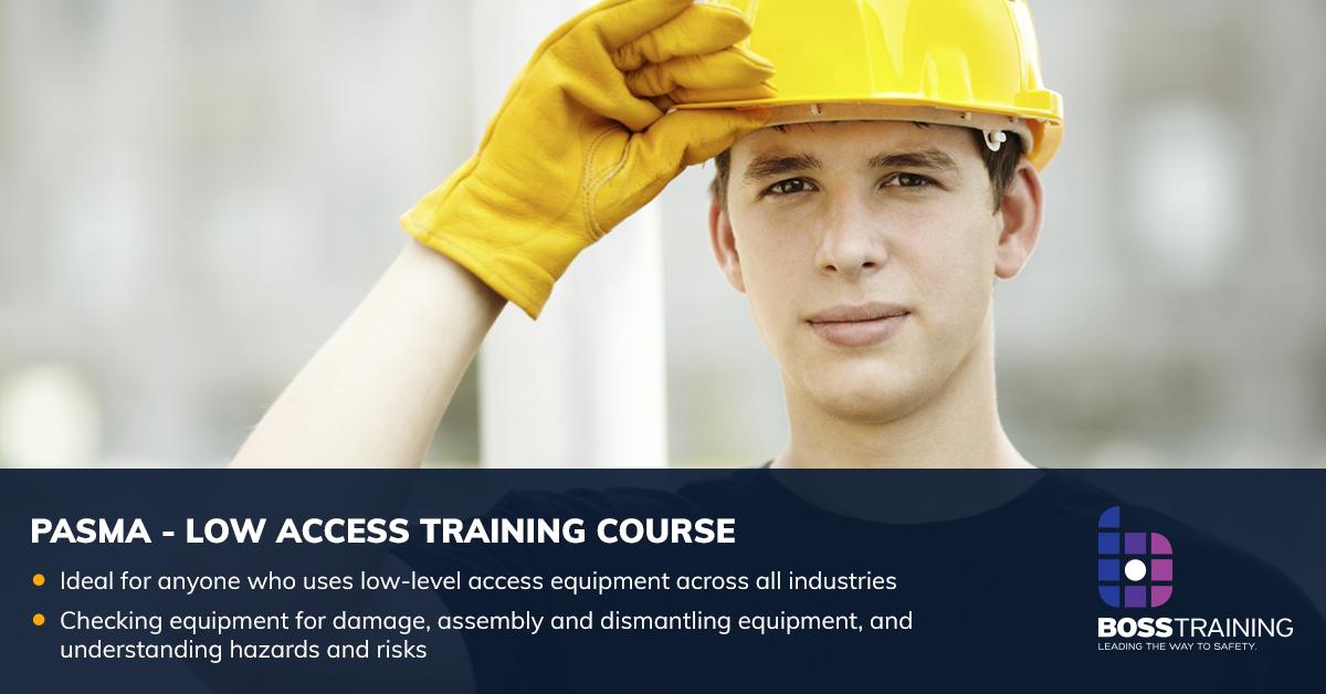 pasma low level access training course